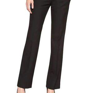 BANANA REPUBLIC Logan Tailored BLACK PANTS 0 REG